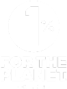 1% For The Planet Logo.